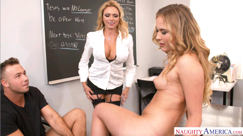 MyFirstSexTeacher – Alyssa Cole And Briana Banks