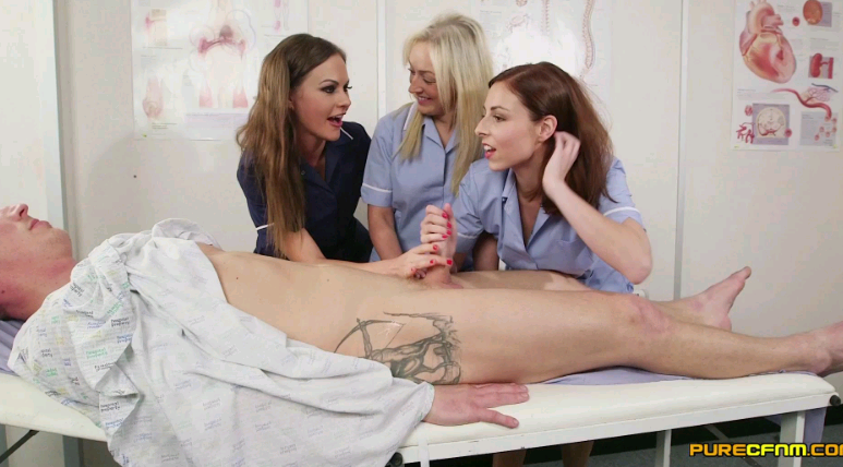 PureCFNM – Amber Deen Antonia Sainz And Tina Kay Paralysis Cure