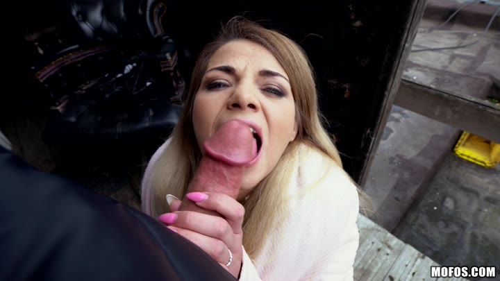 PublicPickUps – Bella Scaris – Student Sucks Cock for Tuition