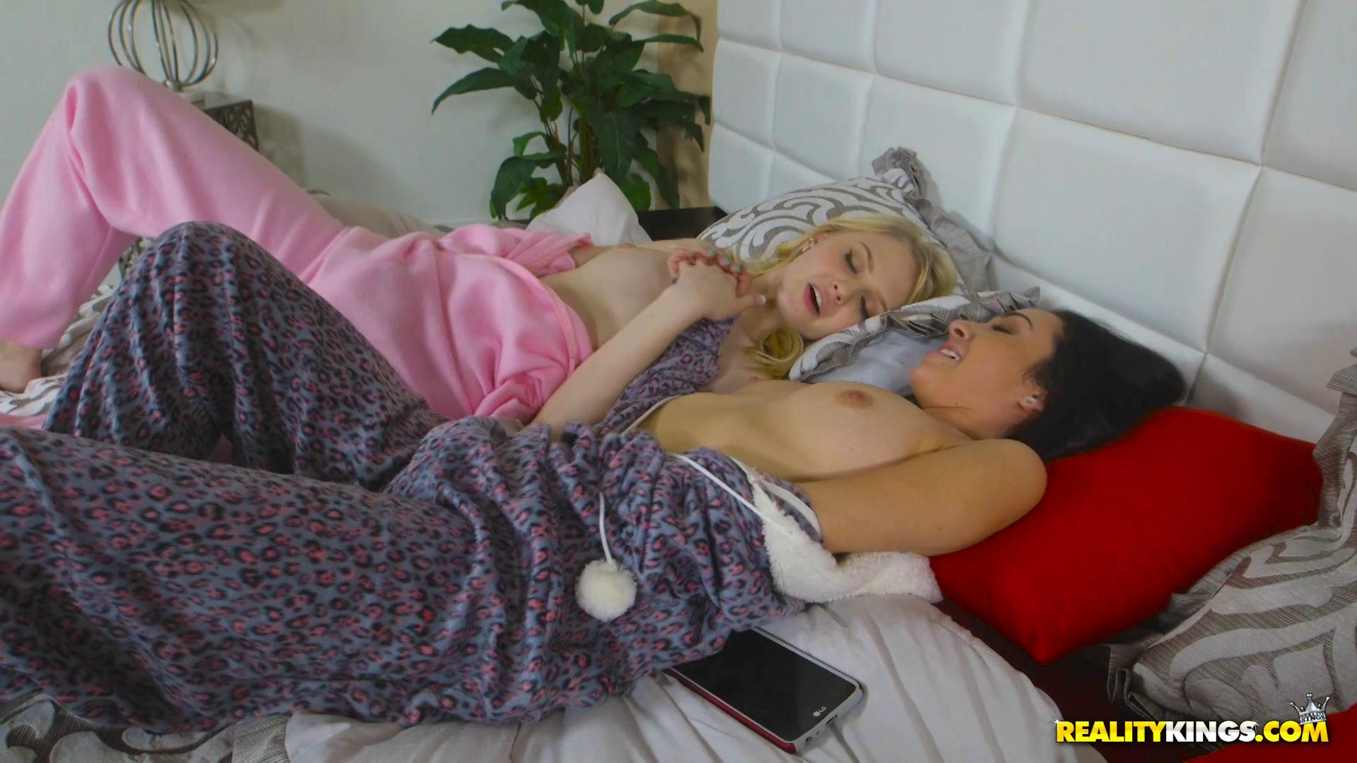 WeLiveTogether – Lily Rader And Kiley Jay Ass Out Tongue In