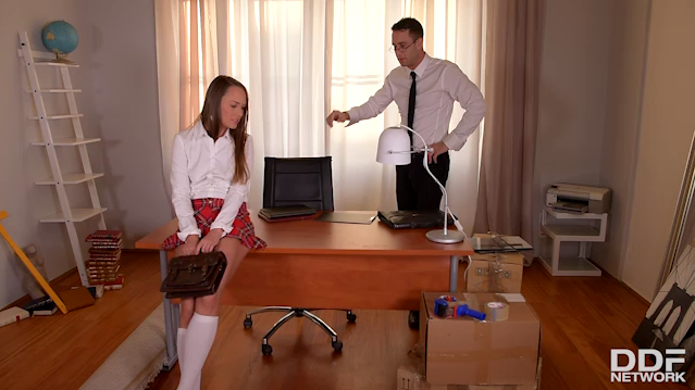 HouseOfTaboo – Blue Angel – Strict Principles Naughty Schoolgirl Spanked And Fucked