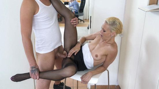 KinkyInlaws – Naughty Czech MILF Lola B gets fucked and cum covered by young stepson