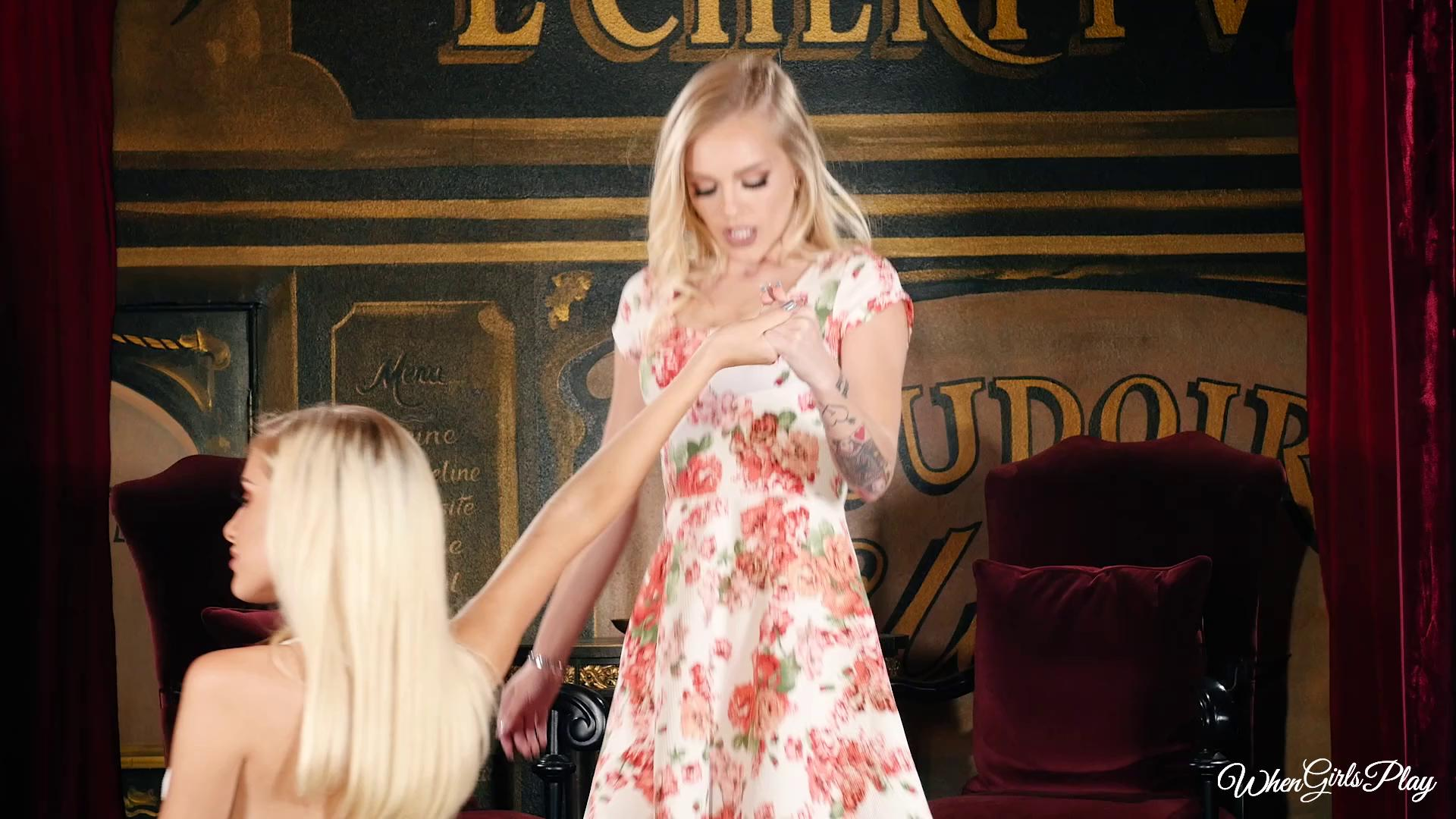 WhenGirlsPlay – Alex Grey And Naomi Woods A Treat Story Curtain Call Part 3