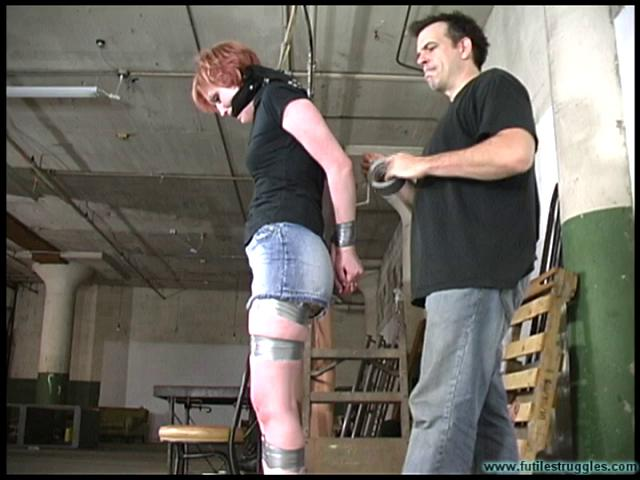FutileStruggles – Amanda Marie Taped And Roped