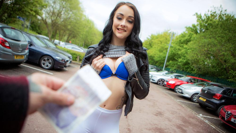 PublicPickUps –  Alessa Savage – Cute British Chick Needs Cash