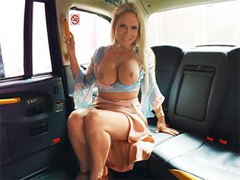 FakeTaxi :  John Gets A Good Taxi Arse Rimming – Sasha Steele