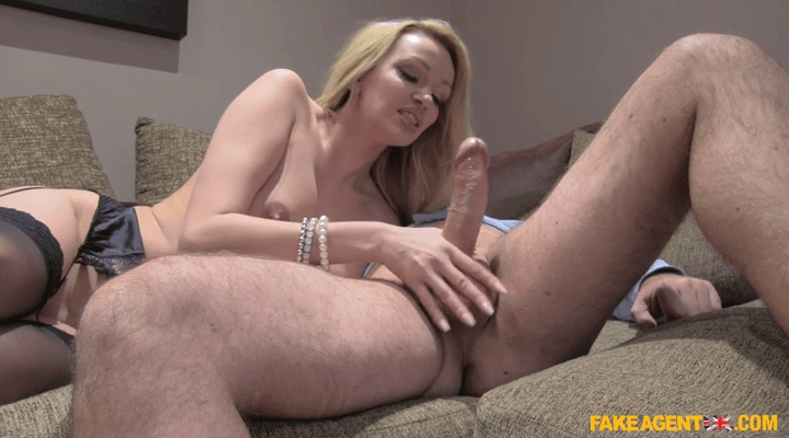FakeAgentUK  – Amber Jayne – Cash Seduces Amateur Big Tits MILF Online HD