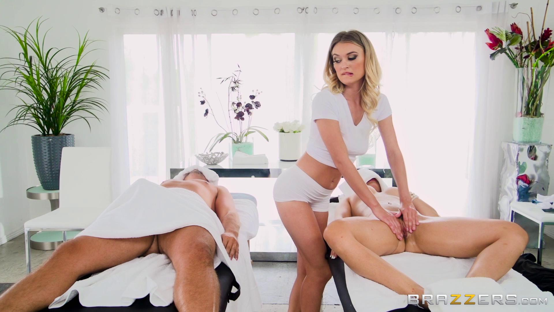 DirtyMasseur – Natalia Starr And Crystal Rush Couple Cums For A Massage
